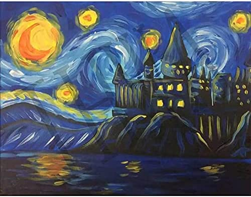 Paint by Numbers for Adults Kids Regular discount The Starry Safety and trust Rhone Night Over