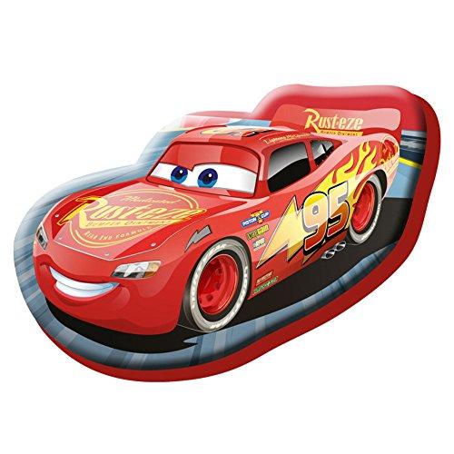 Kids- Disney Cojín con Diseño Cars, Estampado, Color Rojo, 35.0x24.0x5.0 cm (WD19127V)