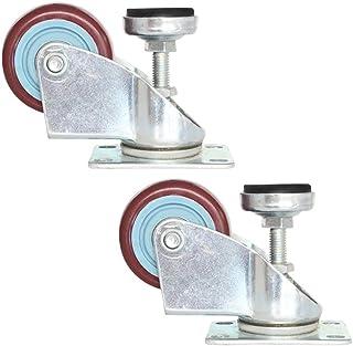 Zwenkwielen Universeel wiel, Horizontaal instelwiel, Zwenkwiel met steunvoet Cup zwenkwiel, Uitrusting Mute zwenkwiel voor...