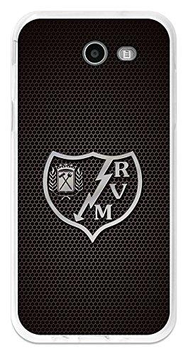 BeCool Funda Gel Flexible Rayo Vallecano para Samsung Galaxy J3 2017 - Carcasa TPU Licencia Oficial Rayo Vallecano Escudo 5