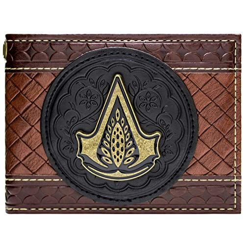 Cartera de Assassins Creed Distribuir Jacob en relieve marrón