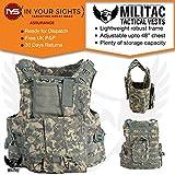 Militac Delta - Veste tactiqueGilet pour airsoft/paintball/combat/assaut avec poches pour chargeur.,...
