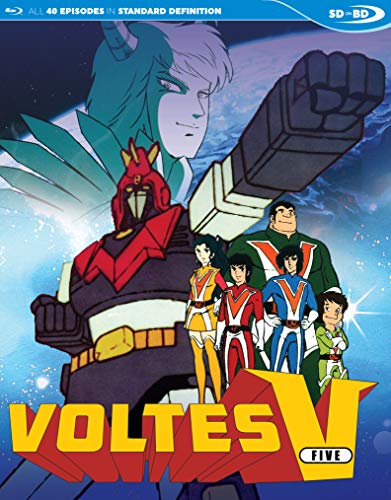 Voltes V Complete Japanese TV Series SDBD [Blu-ray]