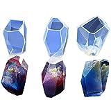 Artstore DIY facettes Diamond Coque en silicone clair Jetant Moules pour la confection de bijoux, polymère,...