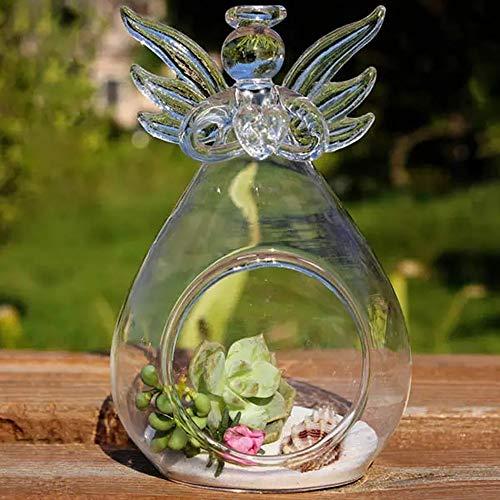 HO-TBO Terrarium installatie om zelf vorm te geven micro landschap hangende engel glazen planten huis bloempot tuin party decoratie lichte kas tuin