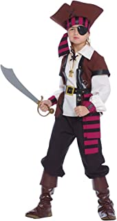 traje corsario Pirata de los de Nuevo EL mundo–Niño 5–6años