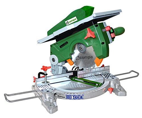 Compa Tech SILVER 210NEW miter saw 1200 W 4500 RPM - Ingletadora (Corriente alterna, 410 mm, 405 mm, 345 mm, 9 kg)