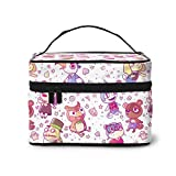 Animal Crossing Cosmetic Bag Travel Makeup Bags For Women Stylish Toiletry Organizer Train Cases Storage Bags Portable Multifunction Pouch
