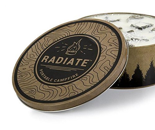 Radiate Portable Campfire 1 Pack (Made in The USA)