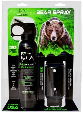 Griz 4 years warranty Guard Bear Spray Holster Formula At the price - Strongest A