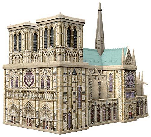 Ravensburger 3D Puzzle 12523 - Notre Dame de Paris - 324 Teile