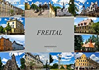 Freital Impressionen (Tischkalender 2022 DIN A5 quer): Zu Besuch in der grossen Kreisstadt Freital (Monatskalender, 14 Seiten )
