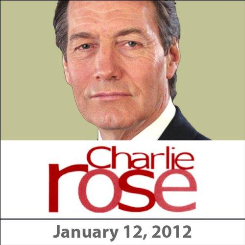 Charlie Rose: Gary Sick, David Ignatius, John Miller, and Damien Hirst, January 12, 2012 audiobook cover art