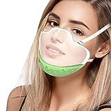 1 Unidad Transparentes Protección Integral ,Diseño 3D Diseño sin Costuras para Adultos con Correas elásticas para los oídos