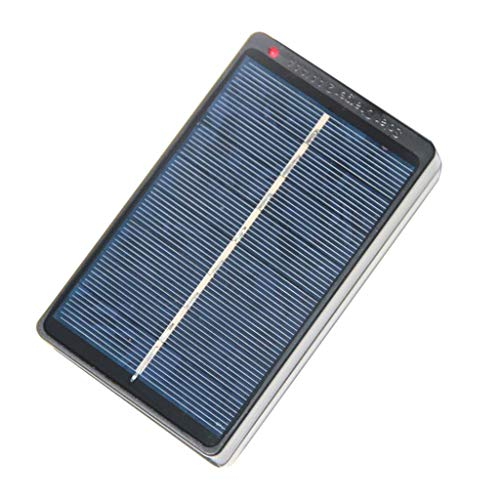 Prettyia Outdoors Foldable Solar Panel Charger 4V 1W for 4 AA AAA Rechargeable Batteries DIY