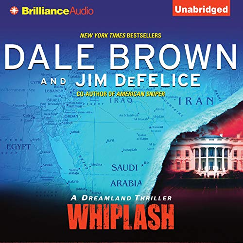 Whiplash Audiobook By Dale Brown, Jim DeFelice cover art