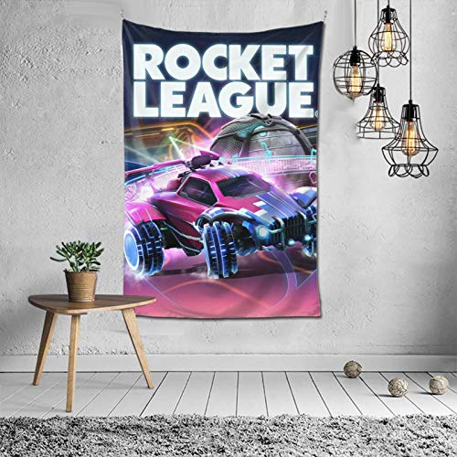 Ro-c-ket Le-a-gue Tapestry Poster Home Decor Tv Show Wall Hanging Wall Hanging Dorm Decor For Living Room Bedroom One Size