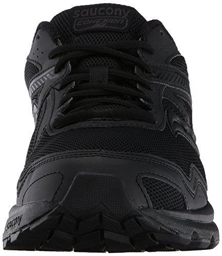 Saucony Men's Cohesion 10 Footwear Black in Size 41