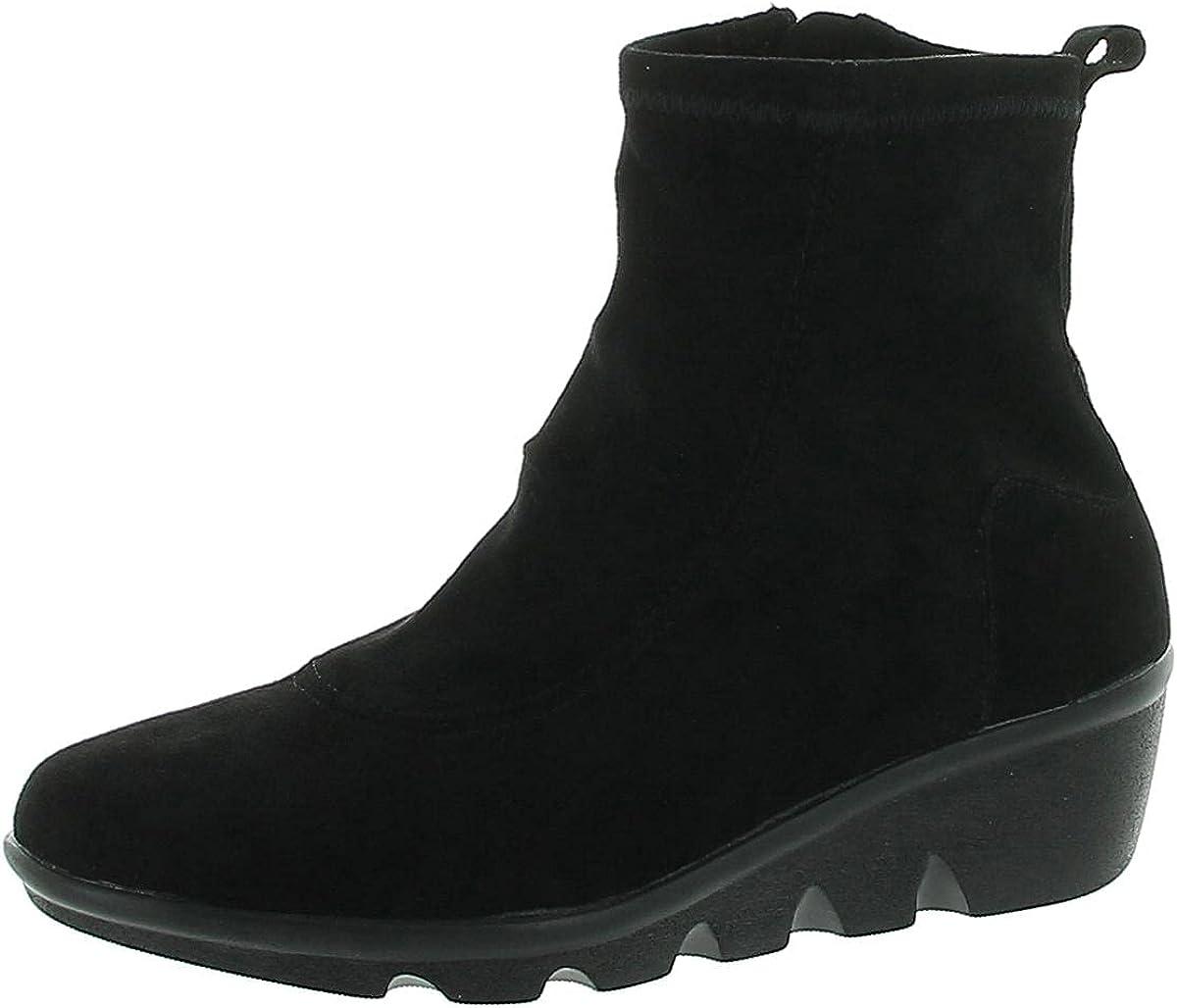 Bernie Mev Womens Ozawa Suede Memory Foam Fashion Sneakers Black 40 Medium(B,M)