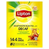 Lipton Tea Bags, decaffeinated 144 Count