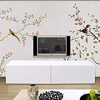 Belovedkai Modern TV Stand Unit Cabinet, High Gloss Media Console Storage Cabinet Entertainment Center with LED Light & Drawers (White 2)