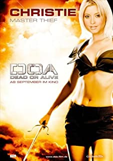 Pop Culture Graphics DOA: Dead or Alive Poster German B 27x40 Jaime Pressly Holly Valance Sarah Carter