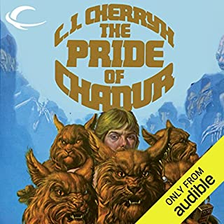The Pride of Chanur audiobook cover art