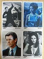 ジェームズ ボンド 007 トレーディング カード 4枚 セット トレカ