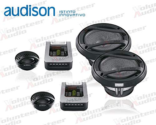 Find Discount Audison AVK6 6.5 125W RMS Direct Fit Component Speakers