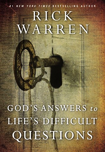 God's Answers to Life's Difficult Questions (Living with Purpose) (English Edition)