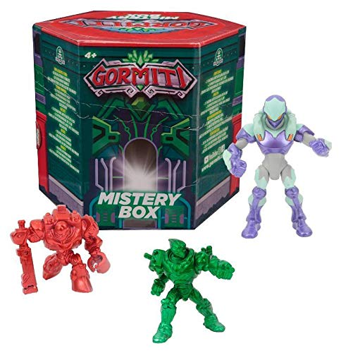 Giochi Preziosi Gormiti, Surprise Box, 12 combinaciones de personajes , color/modelo surtido