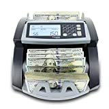 Cassida 5520 UV - USA Money Counter with UV/IR Counterfeit Detection - Bill Counting Machine w/ ValuCount, Add and Batch Modes - Large LCD Display & Fast Counting Speed 1,300 Notes/Minute