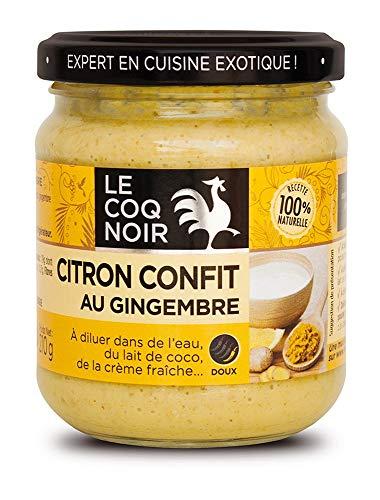 フランス シトロンコンフィ レモン と 生姜 の ペースト 210g 瓶入
