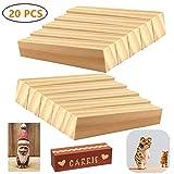 N\A 20 Stück Schnitzholz Natürliches Holzblöcke zum Schnitzen & Basteln Lindenholz Schnitzholz für Kinder und Erwachsene(10 x 2,5 x 2,5cm)