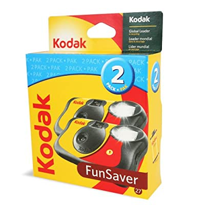 Funsaver One Time Use Film Camera (2-pack) by Eastman Kodak Company
