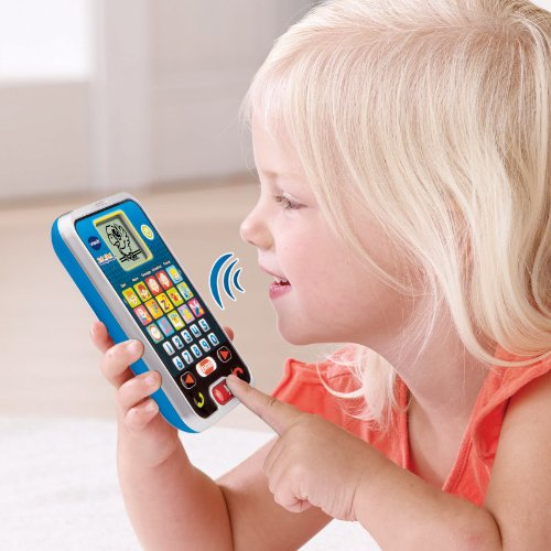 VTech Call & Chat Learning Phone, Black