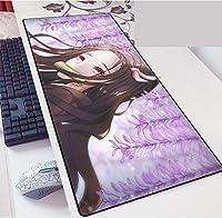 Demon Slayer 鬼滅の刃 鼠标垫 大型 超大型 桌垫 游戏鼠标垫 动画 键盘垫 防水 防滑 耐久性 时尚 鼠标垫 办公室/家兼用-A_900X400X3MM