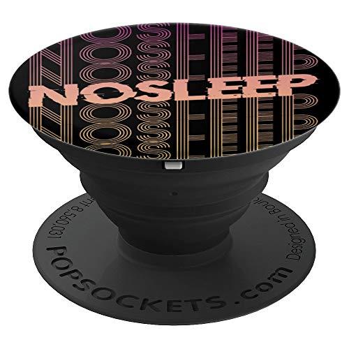 No Sleep Rave Festival EDM Techno Raven Musik Goa Party - PopSockets Ausziehbarer Sockel und Griff für Smartphones und Tablets