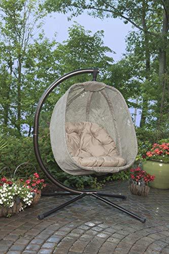 Flower House FHEC100-BRK Egg Chair