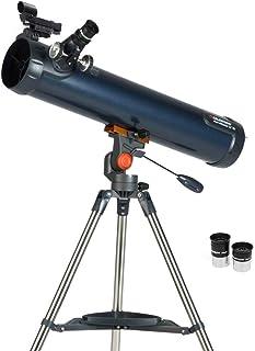 Celestron 31036 AstroMaster LT 76AZ Breathtaking Views, Astronomical Telescope, Blue