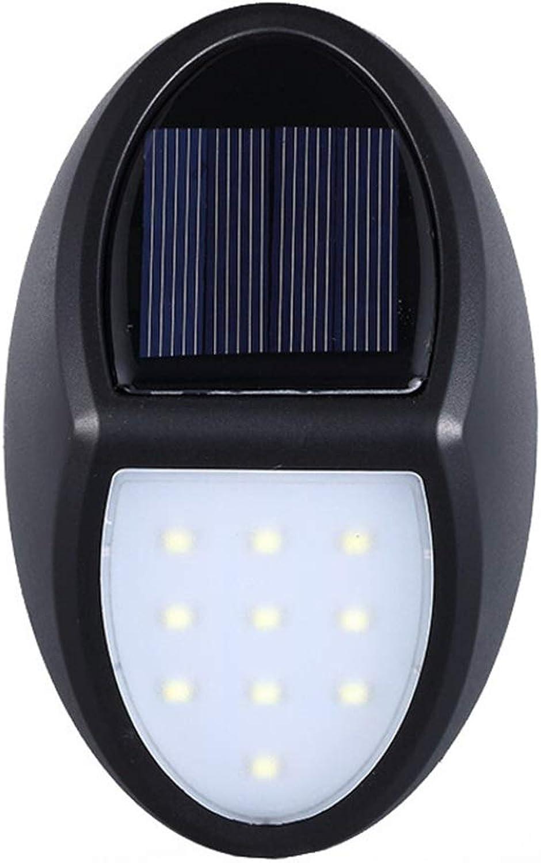GH Energiesparende Wandleuchte, Solar Garden Energiesparende wasserdichte Beleuchtung dekorative Lampen (Farbe   A)