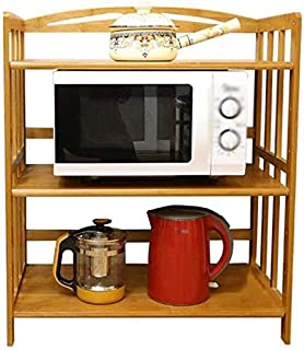 GBX Estante para platos estante para horno de microondas Estante Aparador Gabinete de té Gabinete de cocina Gabinete de v...