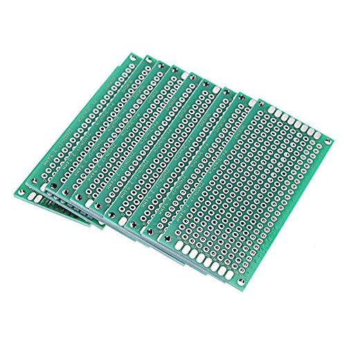 Módulo electrónico Placa de circuito impreso PCB Prototipo de 2,54 mm lateral doble 10pcs 30x70mm 4-FR Equipo electrónico de alta precisión