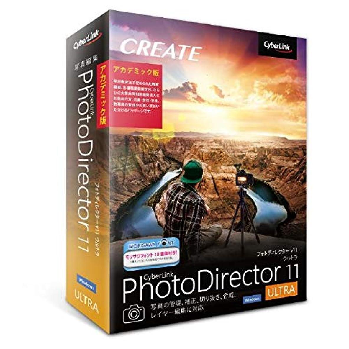 不注意ナイトスポットボクシング【最新版】PhotoDirector 11 Ultra アカデミック版