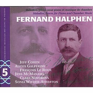 F. Halphen: Mélodies, pièces pour piano et musique de chambre