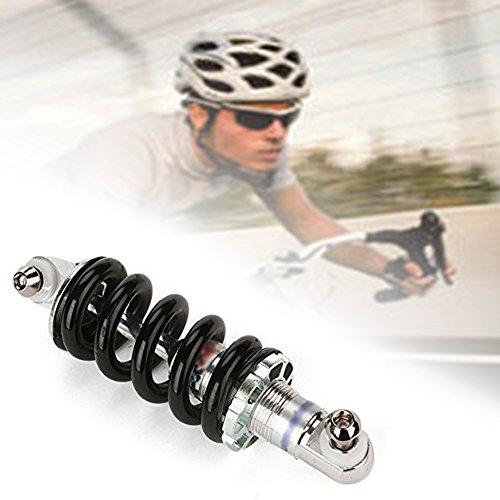 SOLDMORE7Bike ammortizzatore molla in acciaio INOX mountain bike MTB bicicletta molla ammortizzatore sospensione posteriore per bici elettriche e altre bici ammortizzante, 12,4cm