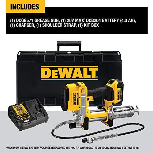 DEWALT 20V MAX Cordless Grease Gun (DCGG571M1)