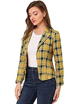 Best yellow plaid blazer Reviews