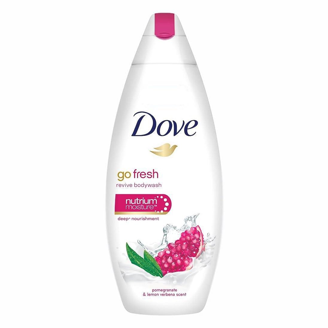 プロフィール第五体操Dove Go Fresh Revive Body Wash, 190ml
