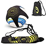 Football Kick Trainer, Soccer Solo Skill Practice Training Aid for Kids Youth Adult Universal Fits Size 3, 4, 5 Footballs